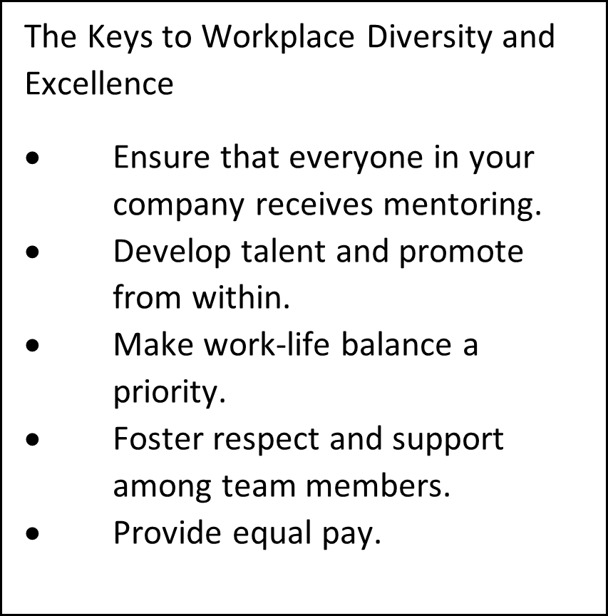 The Keys to Workplace Diversity and Excellence