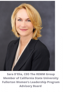 Image of Sara D'Elia, CEO of The REMM Group